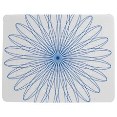 Spirograph Pattern Circle Design Jigsaw Puzzle Photo Stand (Rectangular)