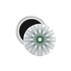 Spirograph Pattern Circle Design 1.75  Magnets