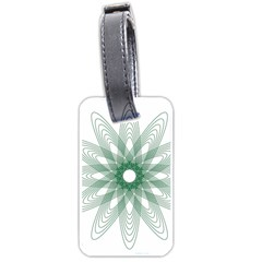 Spirograph Pattern Circle Design Luggage Tags (two Sides)