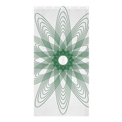 Spirograph Pattern Circle Design Shower Curtain 36  X 72  (stall)