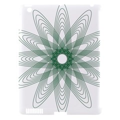 Spirograph Pattern Circle Design Apple Ipad 3/4 Hardshell Case (compatible With Smart Cover)
