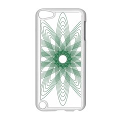 Spirograph Pattern Circle Design Apple iPod Touch 5 Case (White)