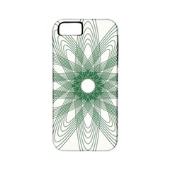 Spirograph Pattern Circle Design Apple Iphone 5 Classic Hardshell Case (pc+silicone)
