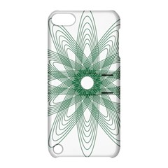 Spirograph Pattern Circle Design Apple Ipod Touch 5 Hardshell Case With Stand