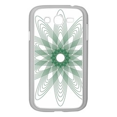 Spirograph Pattern Circle Design Samsung Galaxy Grand Duos I9082 Case (white)