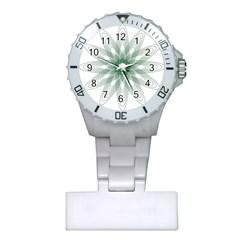 Spirograph Pattern Circle Design Plastic Nurses Watch
