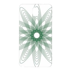 Spirograph Pattern Circle Design Samsung Galaxy Note 3 N9005 Hardshell Back Case