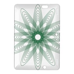 Spirograph Pattern Circle Design Kindle Fire Hdx 8 9  Hardshell Case