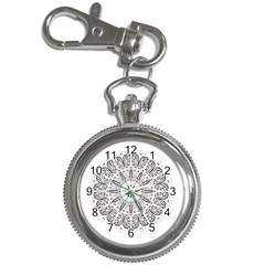 Art Coloring Flower Page Book Key Chain Watches