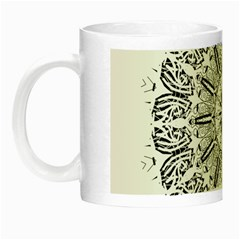 Art Coloring Flower Page Book Night Luminous Mugs