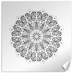 Art Coloring Flower Page Book Canvas 20  X 20
