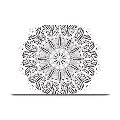 Art Coloring Flower Page Book Plate Mats