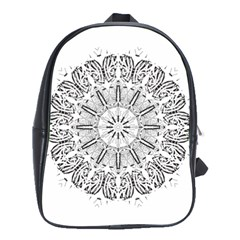 Art Coloring Flower Page Book School Bags(large)