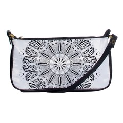 Art Coloring Flower Page Book Shoulder Clutch Bags