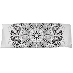 Art Coloring Flower Page Book Body Pillow Case Dakimakura (Two Sides)