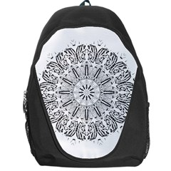 Art Coloring Flower Page Book Backpack Bag