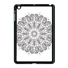 Art Coloring Flower Page Book Apple Ipad Mini Case (black)