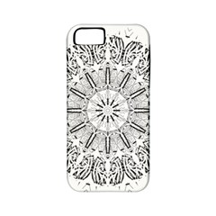 Art Coloring Flower Page Book Apple Iphone 5 Classic Hardshell Case (pc+silicone)