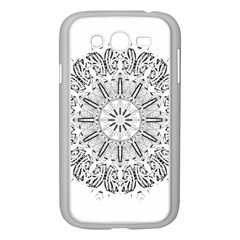Art Coloring Flower Page Book Samsung Galaxy Grand Duos I9082 Case (white)