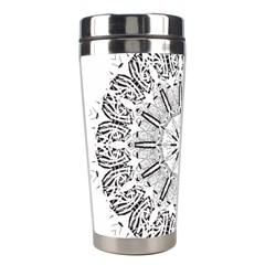 Art Coloring Flower Page Book Stainless Steel Travel Tumblers