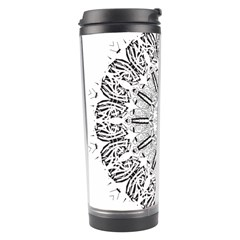 Art Coloring Flower Page Book Travel Tumbler