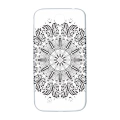 Art Coloring Flower Page Book Samsung Galaxy S4 I9500/i9505  Hardshell Back Case