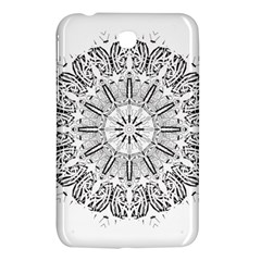 Art Coloring Flower Page Book Samsung Galaxy Tab 3 (7 ) P3200 Hardshell Case
