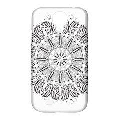Art Coloring Flower Page Book Samsung Galaxy S4 Classic Hardshell Case (pc+silicone)