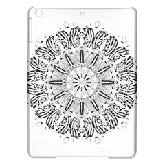Art Coloring Flower Page Book Ipad Air Hardshell Cases