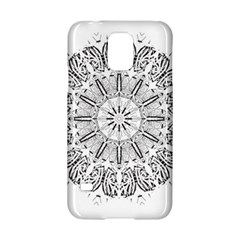 Art Coloring Flower Page Book Samsung Galaxy S5 Hardshell Case