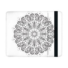 Art Coloring Flower Page Book Samsung Galaxy Tab Pro 8 4  Flip Case