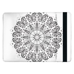 Art Coloring Flower Page Book Samsung Galaxy Tab Pro 12 2  Flip Case