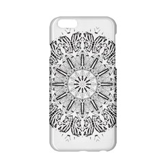 Art Coloring Flower Page Book Apple Iphone 6/6s Hardshell Case