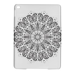 Art Coloring Flower Page Book Ipad Air 2 Hardshell Cases