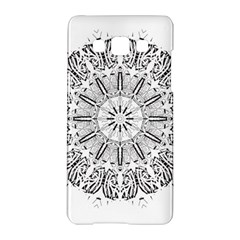 Art Coloring Flower Page Book Samsung Galaxy A5 Hardshell Case