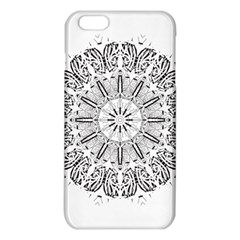Art Coloring Flower Page Book iPhone 6 Plus/6S Plus TPU Case