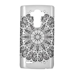 Art Coloring Flower Page Book Lg G4 Hardshell Case