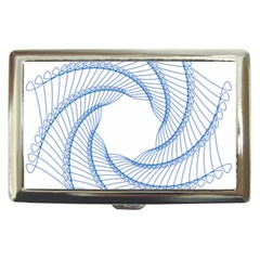 Spirograph Spiral Pattern Geometric Cigarette Money Cases