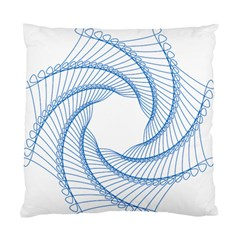 Spirograph Spiral Pattern Geometric Standard Cushion Case (Two Sides)