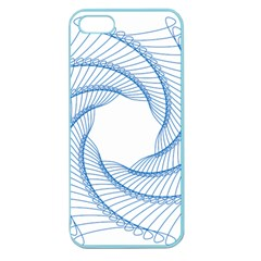 Spirograph Spiral Pattern Geometric Apple Seamless iPhone 5 Case (Color)