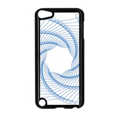Spirograph Spiral Pattern Geometric Apple iPod Touch 5 Case (Black)