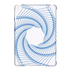 Spirograph Spiral Pattern Geometric Apple Ipad Mini Hardshell Case (compatible With Smart Cover)