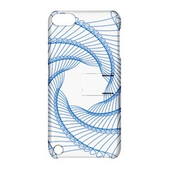 Spirograph Spiral Pattern Geometric Apple Ipod Touch 5 Hardshell Case With Stand