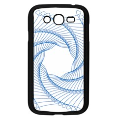 Spirograph Spiral Pattern Geometric Samsung Galaxy Grand Duos I9082 Case (black)