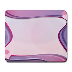 Background Image Greeting Card Heart Large Mousepads