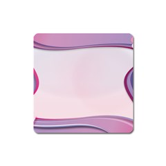 Background Image Greeting Card Heart Square Magnet