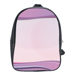 Background Image Greeting Card Heart School Bags(Large)