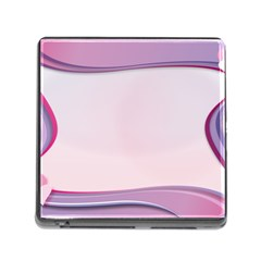 Background Image Greeting Card Heart Memory Card Reader (square)