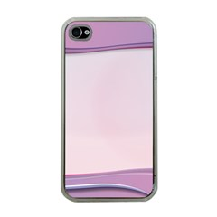 Background Image Greeting Card Heart Apple Iphone 4 Case (clear)
