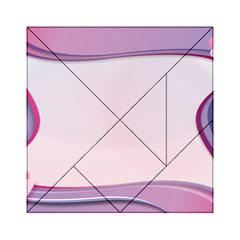 Background Image Greeting Card Heart Acrylic Tangram Puzzle (6  X 6 )